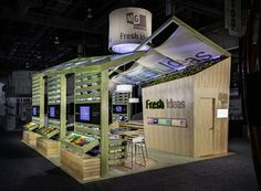 best use of 20x30 booth space - Google Search