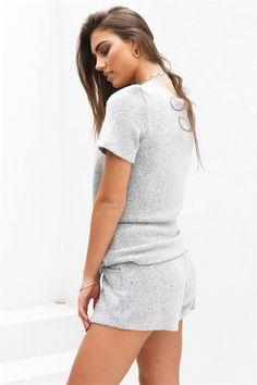 Dash Knit Shorts | SABO SKIRT