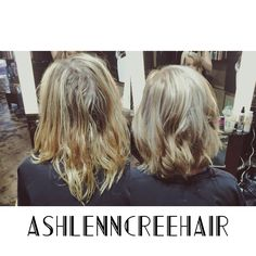 Before & After! From tangled and brassy to healthy and cool toned!