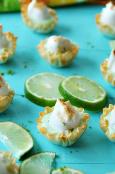 Vegan Lime Tarts with Meringue Yes, these are vegan! Tart, tangy, and creamy lime filling with a sweet vegan chickpea meringue topping. You're going to love these!