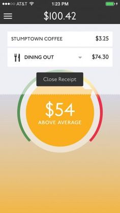 iphone receipt tracking app