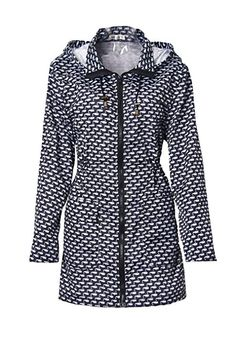 fd88c2c15 Ladies Women Rain Mac Raincoat Showerproof Fishtail Cagoule Kagool Festival  Parka Jacket Hoodie Lightweight Shower Proof Rain Coat Size 8-24:  Amazon.co.uk: ...