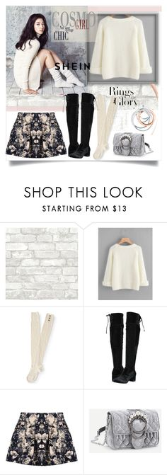 """Cosmo girl Chic"" by latinaconestilo ❤ liked on Polyvore featuring Shin Choi, Aéropostale, MICHAEL Michael Kors, Rebecca Minkoff and Tiffany & Co."