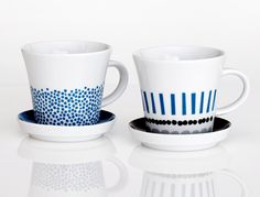 """Harvest"" mugs by Darling Clementine."