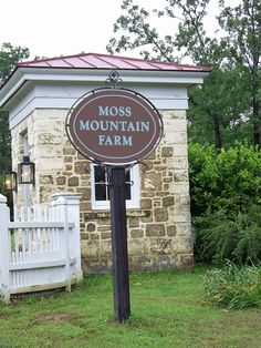 Gate to the beautiful Moss Mountain Farm. P. Allen Smith's Garden Home Makes for a very fun day and will worth $90 With fabulous lunch included. I went in the Fall, want to go back in a few years for the other seasons.  Roland, Arkansas