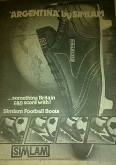 Simlam Advertising, Ads, Vintage Football, Football Boots, Ephemera, Britain, Football Shoes, Soccer Shoes