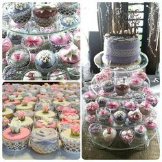 Wedding Cupcakes! Roses, bows, butterflies, pearls!
