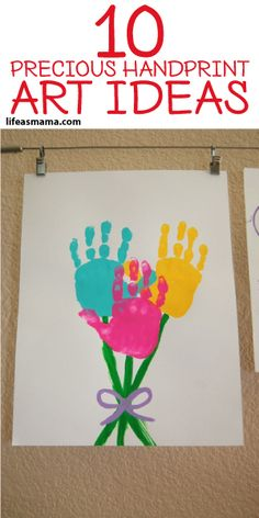 10 Precious Handprint Art Ideas