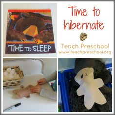 Time to hibernate by Teach Preschool