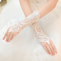 Exquisite Fingerless Rhinestone & Sequins Bridal Lace Gloves (Ivory) Exquisite http://www.amazon.com/dp/B00QL9IF5G/ref=cm_sw_r_pi_dp_53nFvb0WFYXN1