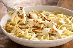 Olive Garden's Chicken Fettuccine Alfredo Recipe - Olive Garden shares their recipe