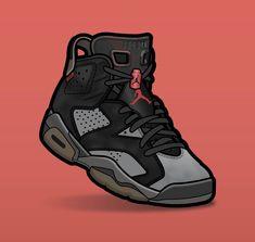 Jordan Vi, Jordan Shoes, Drake Wallpapers, Hypebeast Outfit, Sneaker Posters, Sneakers Wallpaper, Sneaker Art, Jordan Retro 1, Hype Shoes