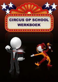Circus op school werkboek van basisschool goochelaar Aarnoud Agricola uit Utrecht. Circusverhalen, circusboeken, circusmoppen, circusliedjes, circusgedichten, woordzoeker, kleurplaten, rebus, circusprenten, circusgoochelaar, circusvoorstelling, circusliedjes en circusgedichten.