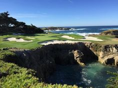 The 15th at Cypress Point is one of the prettiest holes in golf. Where could you look to find one prettier? How about the very next hole :)