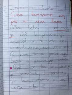 Quaderno di italiano classe 2^ La fiaba Periodic Table, Education, Montessori, 3, Blog, Album, Alphabet, Art, Periodic Table Chart