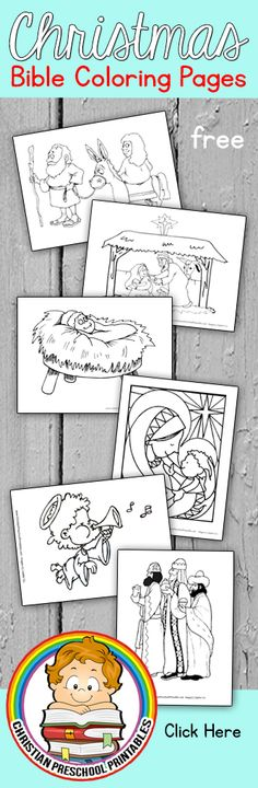 Christmas Story Bible Coloring Pages Christmas Story Bible Coloring Pages Preschool Christmas, Christmas Crafts For Kids, Christmas Activities, Christmas Colors, Preschool Crafts, Christmas Themes, Christmas Fun, Christmas Story Bible, Bible Coloring Pages