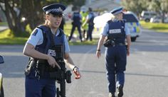 New Zealand Armed Police Officers responding to a dangerous incident