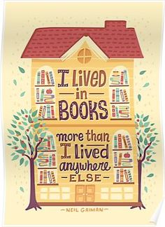 Lived in books Poste