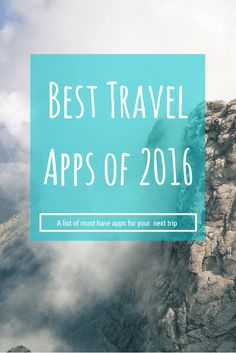 Not all trips are about unplugging. For adventurers who consider their smartphone a second appendage, explorers who are interested in documenting their every move or solo-travelers who need some guidance with language or maps, this list features the best apps for travel in 2016. It's time to get downloading. By http://wonderluhst.net