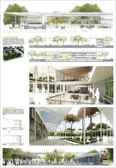Architectural drawing / rendering / diagram - Presentation layout: More