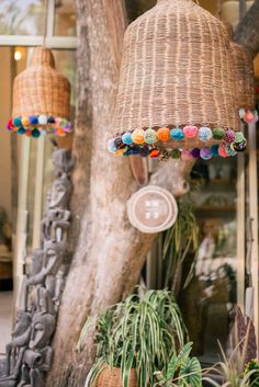 Gal Meets Glam's full five day Tulum travel guide includes the best activities, places to stay and eat, and what to wear in Tulum. Basket Lighting, Outdoor Restaurant, Deco Boheme, Diy Chandelier, Gal Meets Glam, Eco Friendly House, Baskets On Wall, Mode Outfits, Lampshades