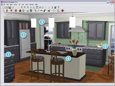 Autodesk 123D Catch  123D Blog  3D Dreams  Pinterest  Free 3D Captivating Kitchen Design Software Freeware Decorating Inspiration