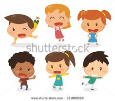toddlers flat design - Penelusuran Google