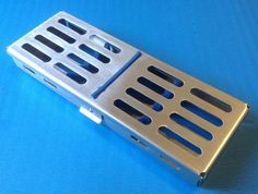 Sterilization Sterilizing Cassette Rack Tray Hold 5 Dental Instruments