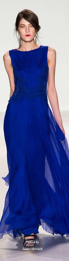 #blueandgoldpromspirit Tadashi Shoji Collection Fall 2014 Ready-to-Wear jαɢlαdy