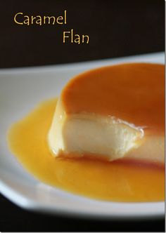 Creamy Custard Dessert, Caramel Flan by LettheBakingBeginBlog.com @Elaine Tricoli the Baking Begin Blog!