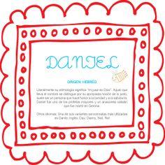 El nombre del bebé: Daniel #BebésNUK