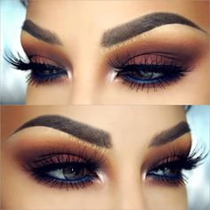 Stunning smokey eyes