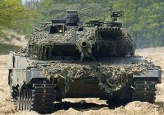 Leopard 2 main dutch battle tank