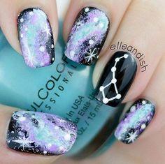 awesome 50 Gorgeous Galaxy Nail Art Designs and Tutorials by http://www.nailartdesignexpert.xyz/nail-art-design/50-gorgeous-galaxy-nail-art-designs-and-tutorials/