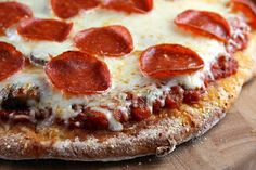 Delightful Nourishment: pepperoni pizza Click Here For RECIPE!