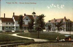 Normal School Buildings Presque Isle Maine