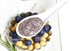 Blueberry + Chick Peas Baby Food Puree