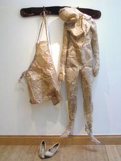 Handmade Paper sculpture - Marta Kepka