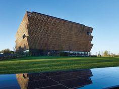 David Adjaye's NMAAHC wrapped by ornamental bronze lattice opens next week in…