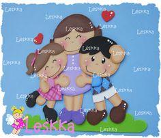 Leskka - Arte em e.v.a 3d Bedding, Decorate Notebook, School Decorations, Family Day, Treasure Boxes, Box Design, Paper Piecing, Diy For Kids, Paper Dolls