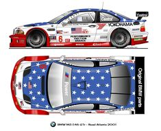 "BMW M3 E46 ""Stars and Stripes"""