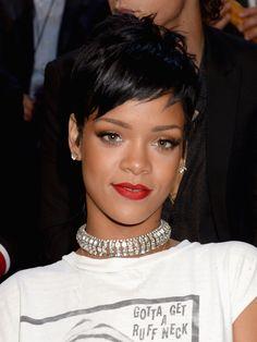 Rihanna et son pixie cut