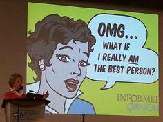Blogged | Informed Opinions...speakin up | Shari Graydon