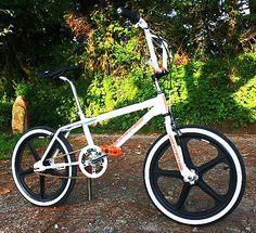 Gold Skyway BMX Flange Kit Set Rear