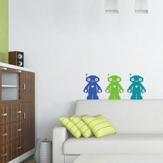 Robot decals