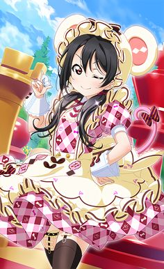 Manga Love, Manga Girl, Manga Anime, Love Live Nozomi, Yuri, Anime Maid, Waifu Material, Anime Poses, Darling In The Franxx