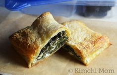 Greek-style Spinach Hand Pies