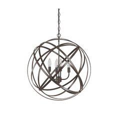 Found it at Wayfair Supply - Gaia 4 Light Globe Pendant