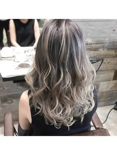 25 Ideas hair color blonde grey ombre for 2019 Ombre Hair, Balayage Hair, Blonde Color, Hair Color, Hair Tips For Men, Zoella Hair, Hair Colour Design, Blonde Hair Looks, Blonde Haircuts