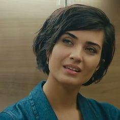 Tuba Büyüküstün (Turkish actress), beautiful cute.